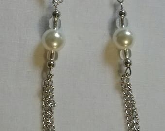 Small Tassel Chain Earrings (#98)