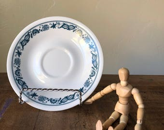VINTAGE Corelle Old Town Blue 6.25 inch Saucer Plate