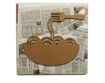 Pasta - Cardboard furniture, food sign, sign in board, sign for kitchen, door sign, home sign, wall decor | Tropparoba - 100% made in Italy