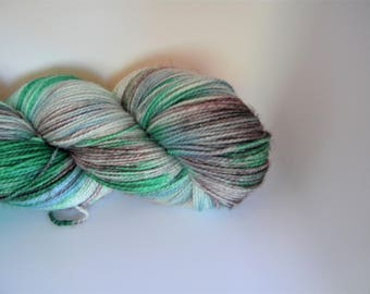 Frosted Windowpanes Stellina Sock Yarn