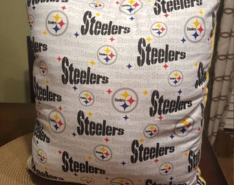 Pittsburgh Steelers Throw Pillow