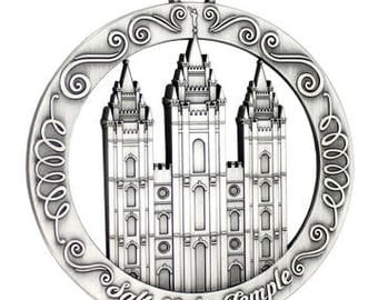 Salt Lake Utah LDS Temple Ornament