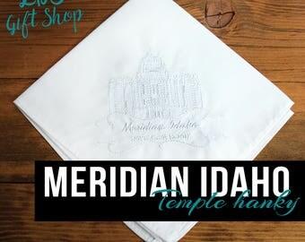 Meridian Idaho Temple Hanky