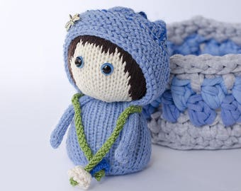 "Knitted toy ""Blueberry"""