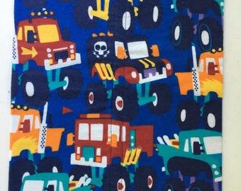 Monster Trucks Burp Cloth