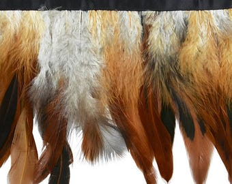 Expo 5 yards of Natural Feather Fringe Trim