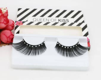 Fashion eyelashes with diamond Make Up False Eyelashes