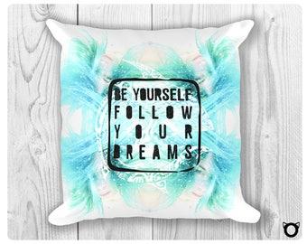 "Pillow ""Blue Mermaid"""