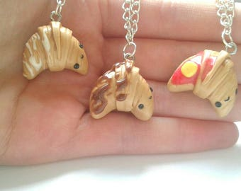 Polymer clay kawaii croissants