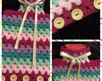 Crocheted Hot Water Bottle
