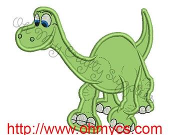 Great Dinosaur Applique Embroidery Design