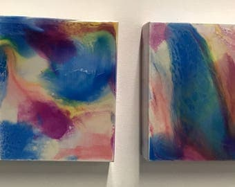 True Color Series-diptych 8x8