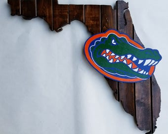 Florida Gators wood sign
