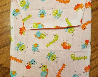 Cute bugs Diaper/wipe case