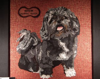 quilted portraits - people and animals