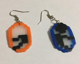 Portals inspired earrings