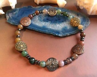 Colorful Metal Beaded Bracelet