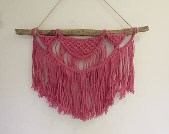 Bast // Large Macrame Wallhanging