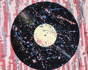 Painted vinyl record