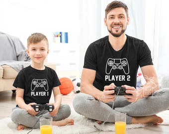Dad and son matching shirts daddy and son shirts  fathers day gift  father and son matching shirts player shirts matching father and son