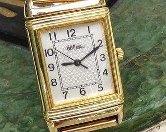 Vintage Bob Mackie Designer Reverso - style Watch