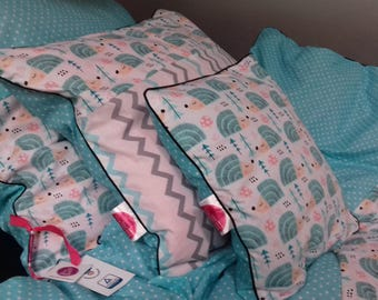 Kids bedding ! home made 100% cotton...super!!! set bedclothes  for children