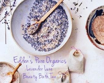 Lavender Luxe Beauty Bath Tea