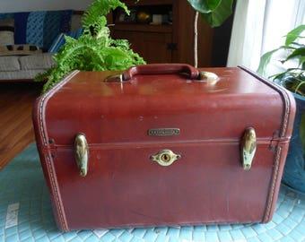 Vintage, Samsonite cosmetic, train case