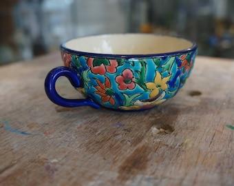 LONGWY faience Cup
