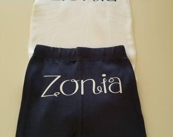 Onesie Pants Set