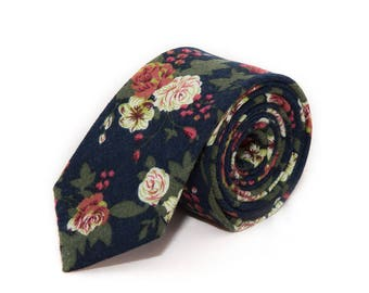 de MORÉ - blue tie in the Vintagelook
