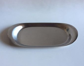 Stainless Steel Butter Dish | Cromargan by WMF | Germany | Vintage