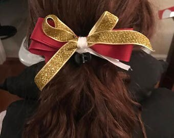 Fall gold bow