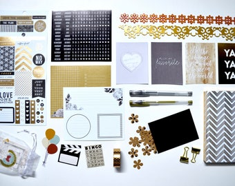 The Neutral Queen Mini Planner Accessories Kit