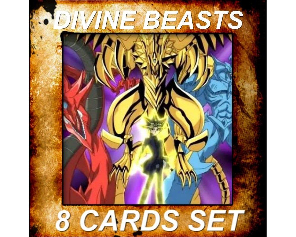 yugioh orica anime divine beasts slifer obelisk ra horakhty