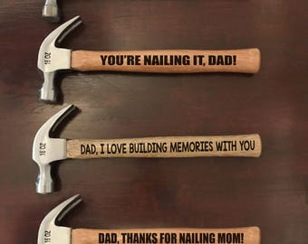 Customized Hammer for Father's Day