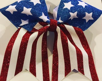 4th of July, Cheer Bow, Bow