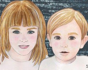 Portrait | Custom illustration