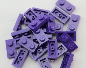 LEGO® Mosaic  Pieces 1x2 (x25) - Purple
