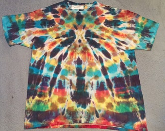 "tie dye t-shirt adult XL""spyder"""
