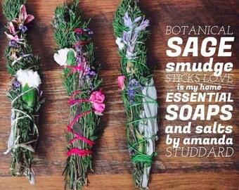 Botanical Sage Smudge Stick