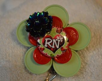Handmade Retractable Badge Holders