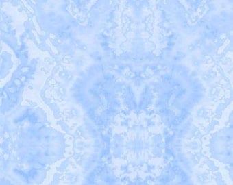Comfy Flannel Blue Blender Fabric
