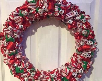 Christmas Ribbon Wreaths