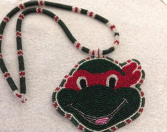 Ninja Turtle Necklace & Pendant
