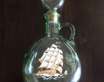 Old Fitzgerald Flagship Decanter 1849