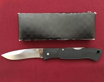 Blackjack Folding Mamba knife