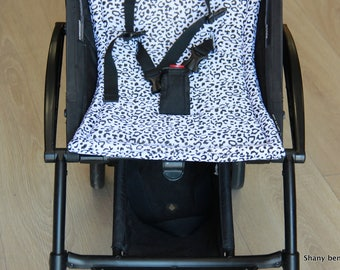 stroller pad, pram strap covers, Papillon matches, Bugaboo seat, baby carriers&wraps, stroller seat liner, Babyzen Yoyo, pink, print leopard
