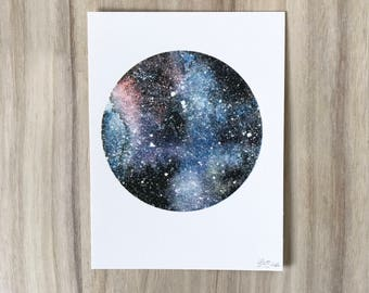 Space Print Universe Galaxy Nebula Cosmos Solar System Stars