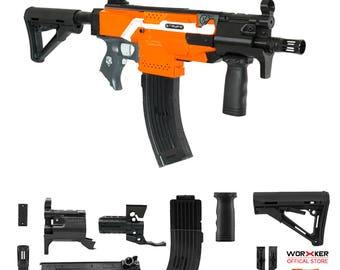 Worker MOD F10555 MP5K PWD Imitation Kit 3D Printing Combo for Nerf STRYFE N504